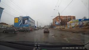 Ямы на Буммашевской 7.04.2016