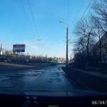 9 января в районе пересечения с Дзержинского