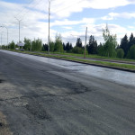 Ремонт 40 лет Победы от Камбарской до Закирова в Ижевске, май 2016