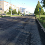Ремонт на 40 лет Победы после Ашана в сторону Моторной, май 2016