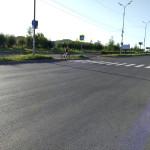 40 лет Победы от Моторной в сторону Ашана, май 2016
