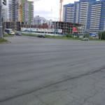 Новый асфальт на 40 лет Победы пересечение с Моторной