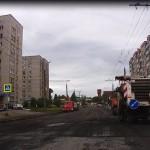 Начало ремонта на Клубной, май 2016