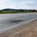 Гарантийный участок Славянского шоссе в мае 2016