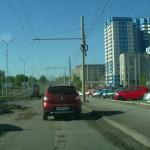 Ремонт 40 лет Победы в Ижевске, май 2016