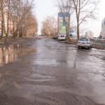 Ильфата Закирова между домами №1 и №20 10.04.2016