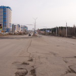 40 лет Победы в районе Закирова 10.04.2016