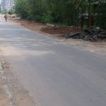 Частично уложен новый асфальт на Ухтомского в Ижевске, июнь-июль 2016