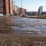 Ямы на Сабурова 16.04.2013 в Ижевске