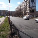 Отремонтированная в 2013 улица Сабурова
