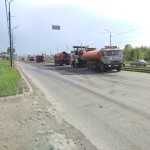Начало ремонта Карла Маркса в Ижевске, 12.05.2016