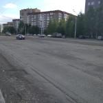 Ремонт Первомайской в Ижевске, май 2016