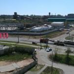 Начало ремонта на Баранова в Ижевске в мае 2016
