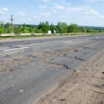 Ямы остались на Славянском шоссе в Ижевске