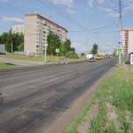 Первомайская улица после фрезы, май 2016