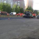 Кипит работа на Первомайской в Ижевске, май 2016
