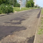Ремонт Союзной в Ижевске, выравнивающий слой