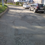 До ремонта проезда на Ворошилова В районе дома №115