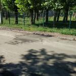 Ямочный ремонт на проезде Ворошилова