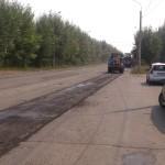 Ремонт на Союзной в Ижевске: снят старый асфальт