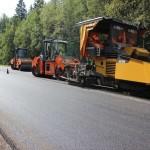 Ремонт дороги до аэропорта Ижевска