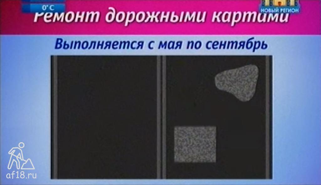 Ремонт дорожными картами в Ижевске